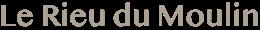 Le Rieu du Moulin Logo